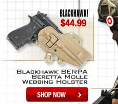 Blackhawk Serpa Beretta Molle Webbing Holster - Shop Now.