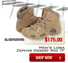 Men's Lowa Zephyr Desert Mid TF - Shop Now.