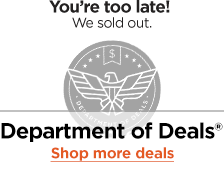 You're too late. Shop more deals.