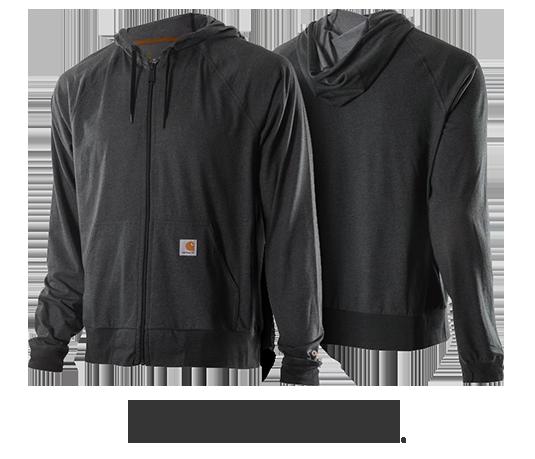 Carhartt Force Delmont Zip Front Hoodie